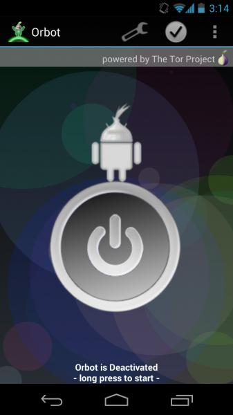 Repara Orbot / Tor para el dispositivo Android 4.1 Jelly Bean 2