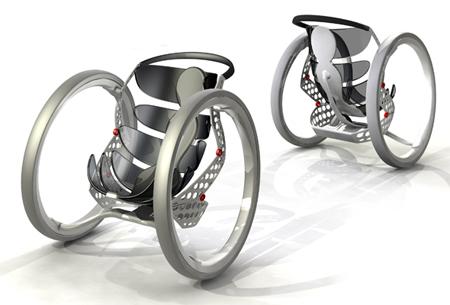 Concepto de silla de ruedas BMW2
