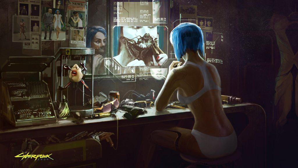 CD Projekt Red muestra el fondo de Cyberpunk 2077 1
