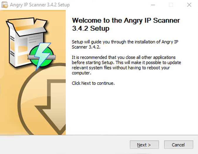 Angry-ip-scanner-installer