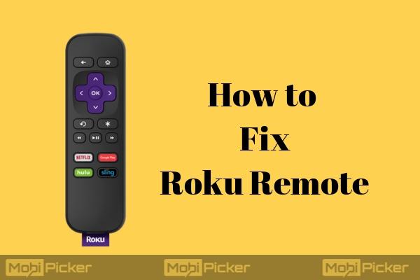 El control remoto de Roku no funciona