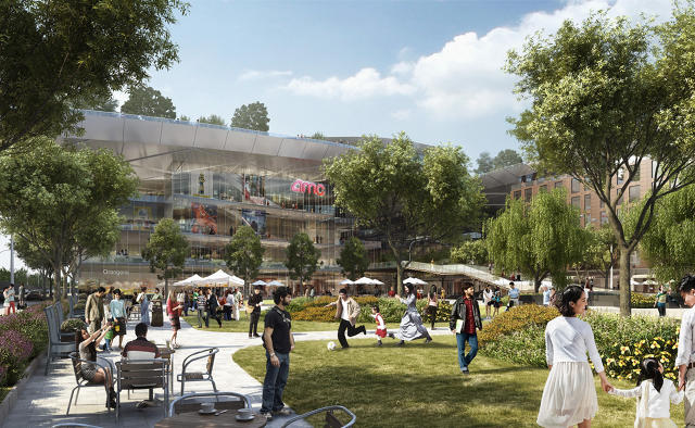 gcalifornia más grande verá el techo verde más grande en el centro comercial abandonado2