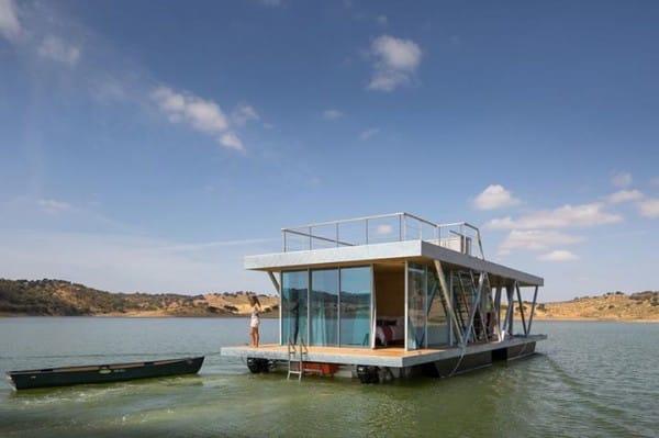 La increíble casa flotante es personalizable y autosuficiente 10
