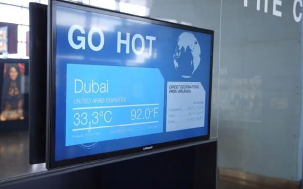 Experimente el clima con anticipación en el aeropuerto de Estocolmo Arlanda 4