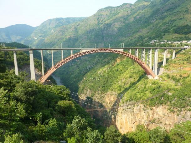 El puente que conectará al 90% de la población de China