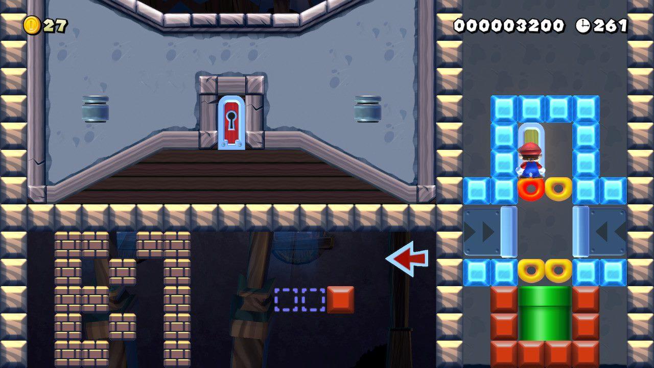 Estoy contento con la creatividad del creador.  Los jugadores crean misiones FPP en el asistente de Super Mario Maker 2 1