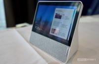 Lenovo Smart Display 7 perfil derecho