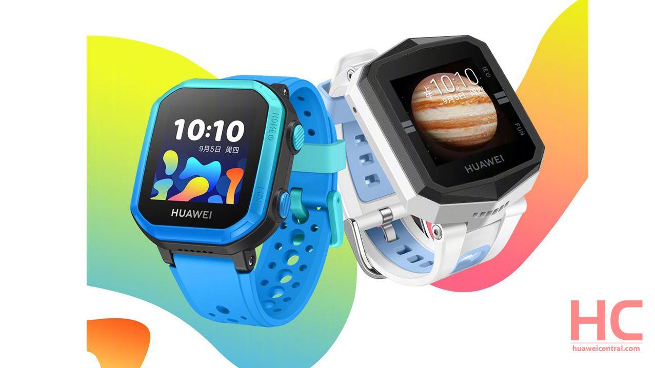 Huawei trae el reloj para niños 3Series en el mercado que incluye cuatro variantes diferentes 1