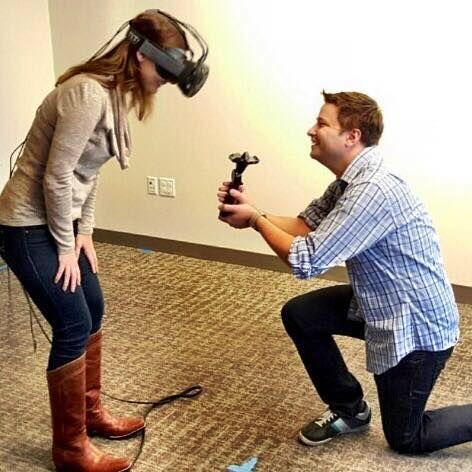 Usar VR para proponer que su GF es posible ahora 4