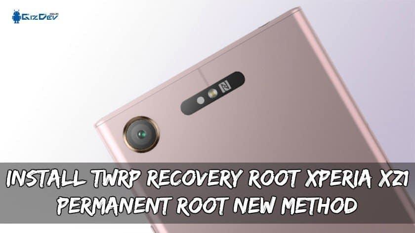 Instalar TWRP Recovery Root Xperia XZ1 (nuevo método de raíz permanente)