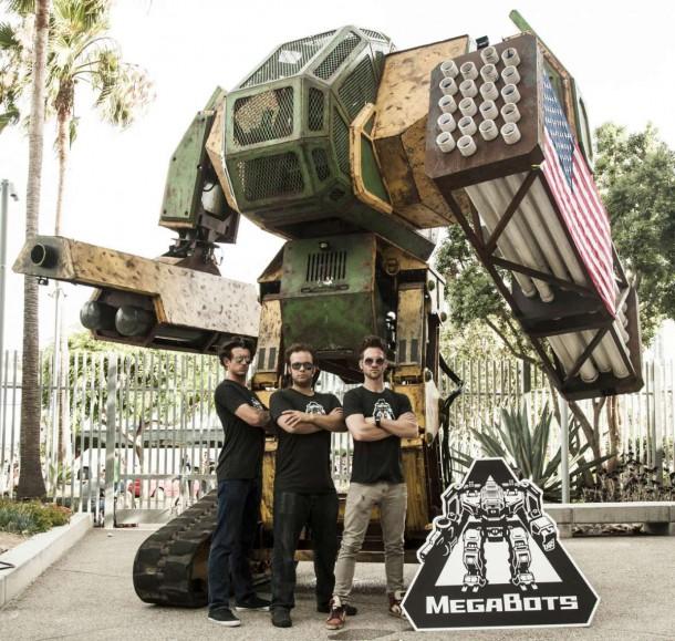 Megabots y NASA