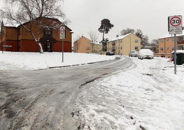 Nuevo asfalto combate la formación de hielo