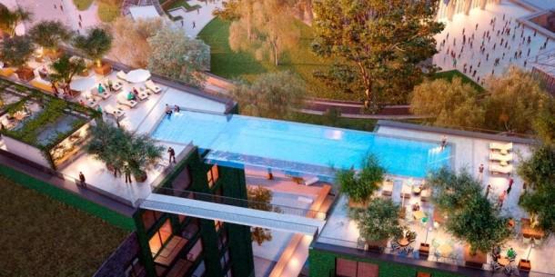 Londres pronto tendrá el primer Sky Pool 5 del mundo