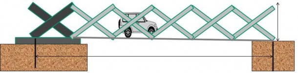 Origami Inspired Portable Emergency Bridge 3