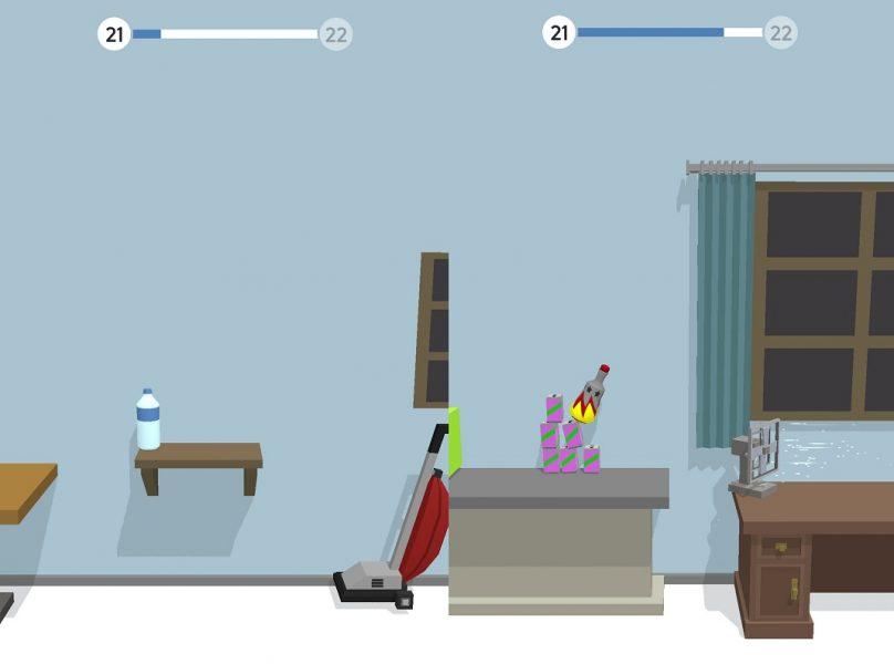 Los mejores juegos casuales: Bottle Flip 3D
