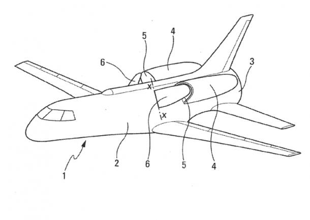 Airbus patente Yogi