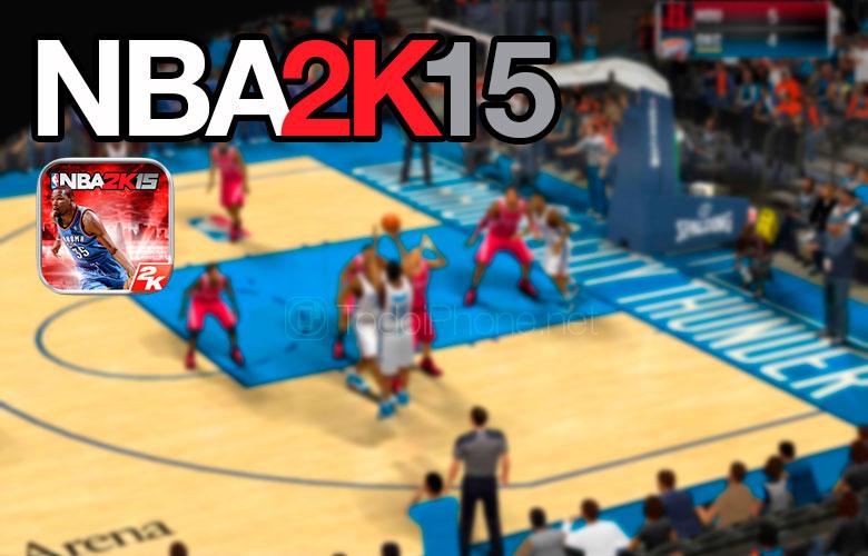 NBA 2K15 para iPhone y iPad disponible en la App Store 1