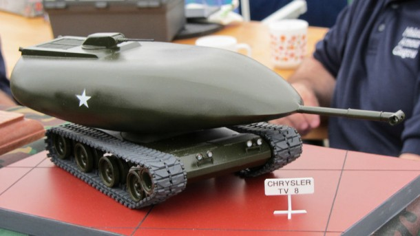 Chrysler TV-8 fue el tanque conceptual basado en la energía nuclear 4