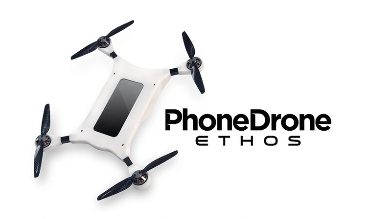 dron del teléfono