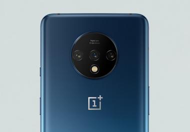 El módulo de cámara OnePlus 7T    c) Oneplus