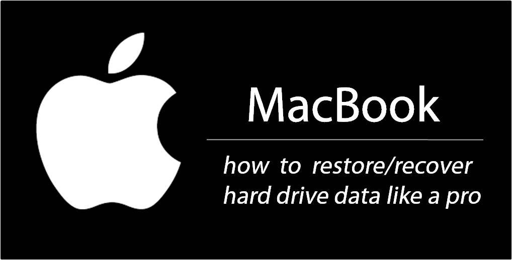Restaurar / restaurar datos del disco duro en MacBook Pro, Air e iMac 1