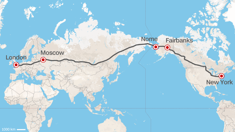 Super autopista rusa TEPR2