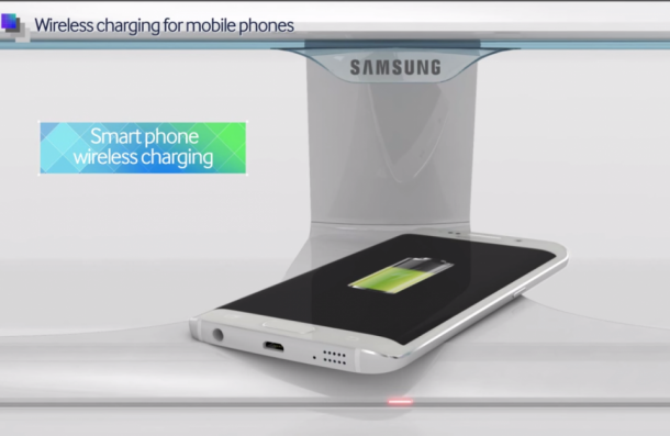Samsung ha diseñado un monitor que ofrece carga inalámbrica 3