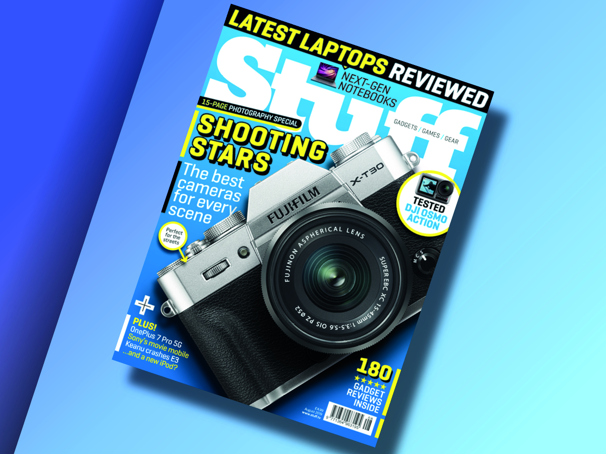 La edición de agosto de la revista Stuff ha sido publicada 1