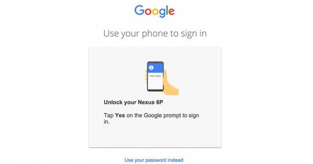 Google está probando inicios de sesión sin contraseña