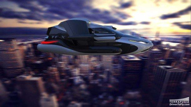 Terrafugia quita los velos del nuevo diseño para Autonomous Flying Car 2