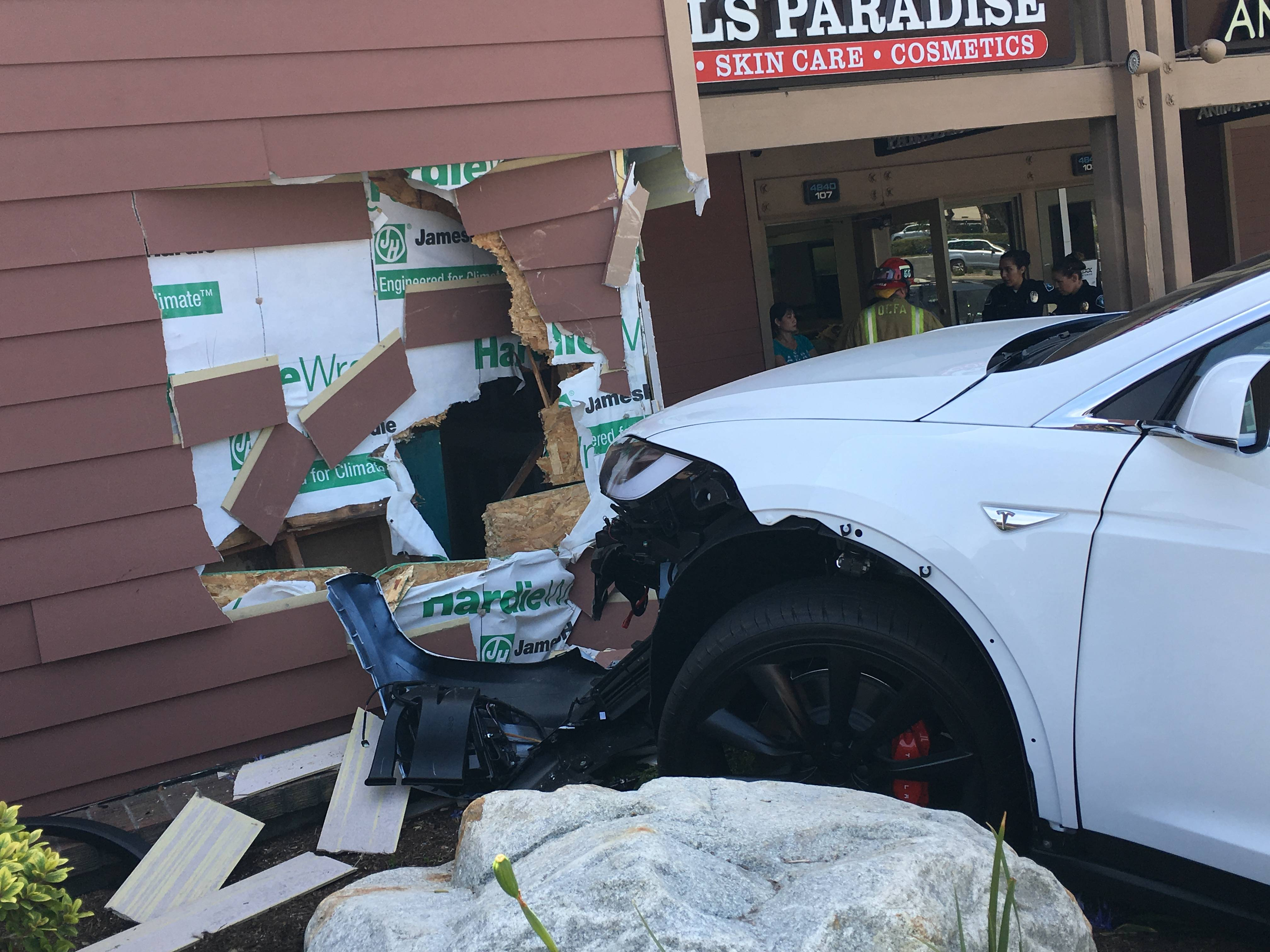 Tesla MOdel X crash2