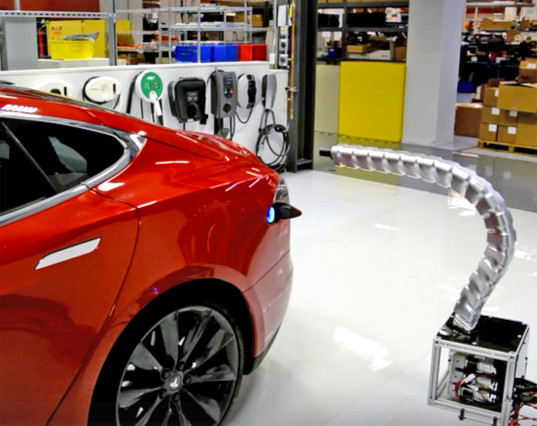 Tesla carga eléctrica2