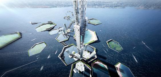 La torre Sky Mile de Tokio tendrá el doble de altura que Burj Khalifa 2