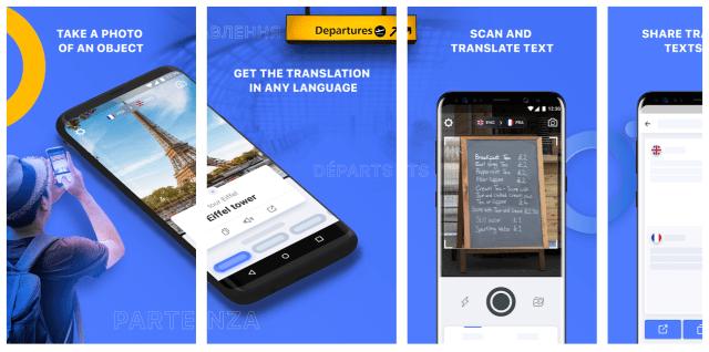 Capturas de pantalla de la aplicación Triplensa