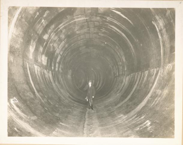 Esto es lo que construyeron para proporcionar agua a Nueva York en 1915 5