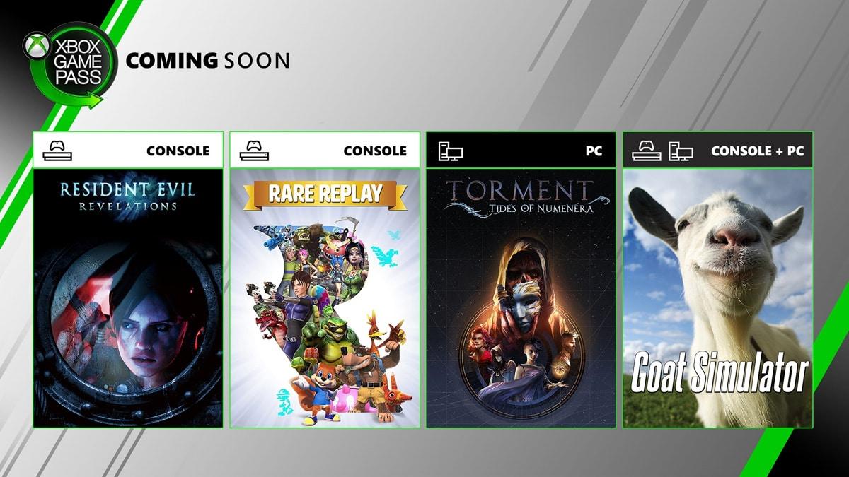Una lista de juegos que aparecen y terminan en Xbox Game Pass.  Delicias interesantes de E3 1