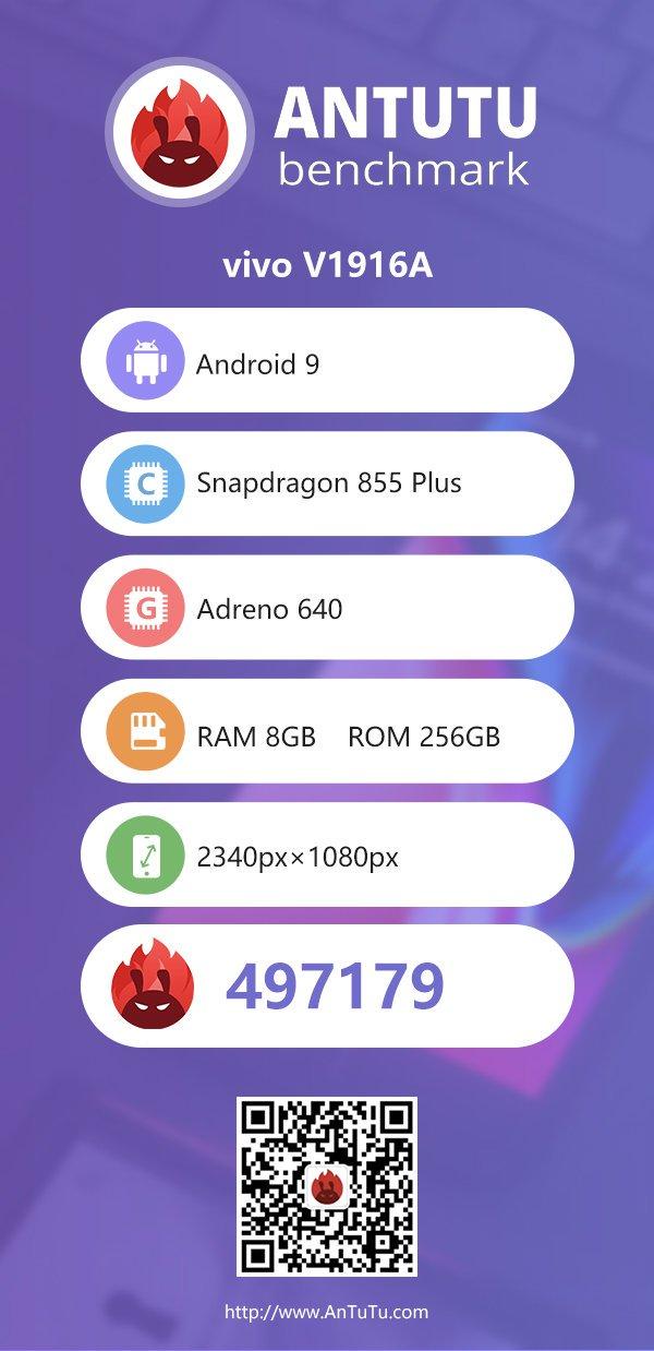Vivo iQOO Pro 5G AntTuTu