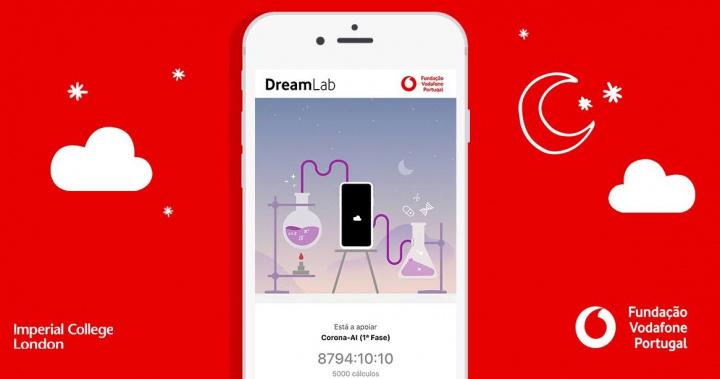 DreamLab: aplicación de la Fundación Vodafone para ayudar con la investigación de COVID-19