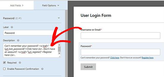 Thêm tùy chọn mật khẩu
