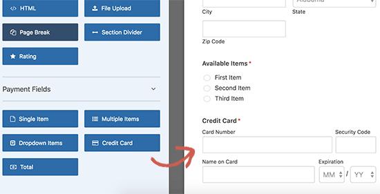 Thêm lĩnh vực thẻ tín dụng