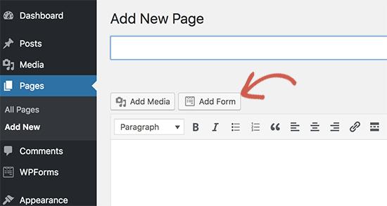 Agregar botón de formulario