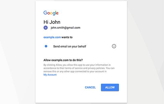 Povoliť Gmail