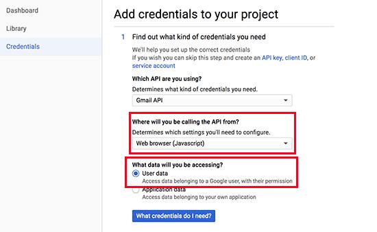 Poverovacie prvky rozhrania API API 1