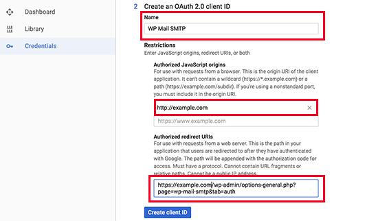 Poverovacie prvky rozhrania API API 2