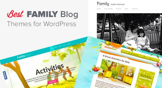 24 najlepších tém WordPress pre rodinné blogy (2019)