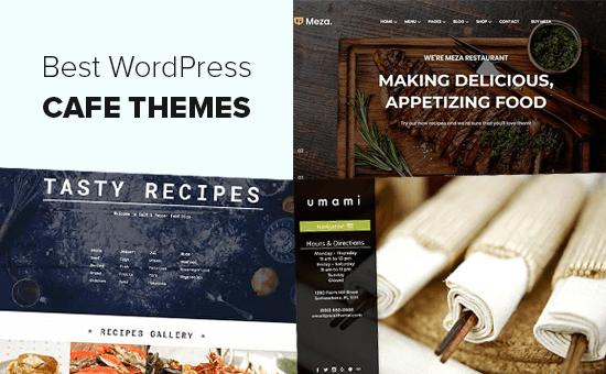 Các chủ đề WordPress tốt nhất cho các quán cà phê