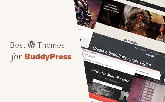 20 meilleurs thèmes BuddyPress pour votre site WordPress