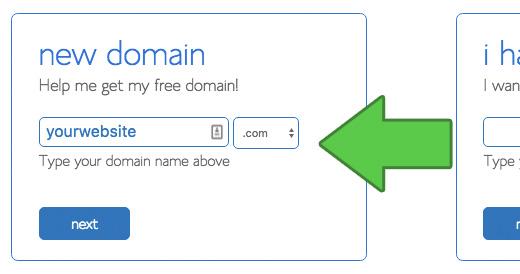 Chọn tên miền cho trang web của bạn
