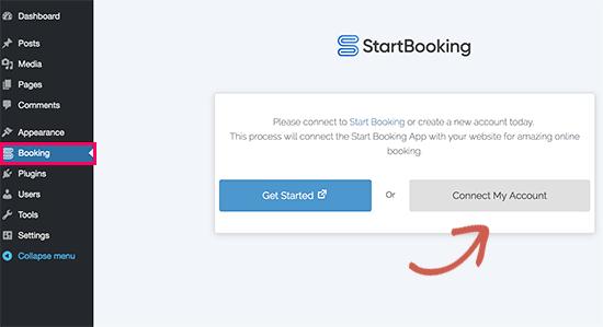 Kết nối StartBooking