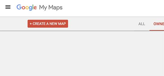 Tạo một bản đồ mới